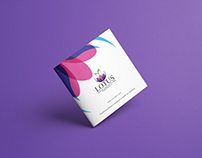 Lotus Brochure Design