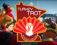 Turkey Trot 2017 Video and Animation