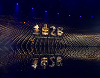 Golden Melody Award 2015 Stage Background Animation