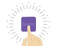 Bluntli Cannabis Verification App: Motion Graphics