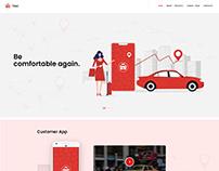 Website Layout MyGo-taxi