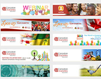 CDA E-Newsletter banners design