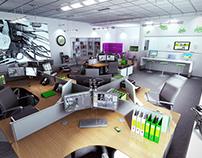 College Studio CGI
