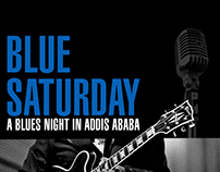 Poster + Flyre Design for Blues Saturday