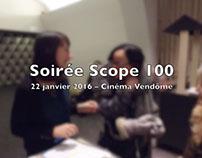 Soirée de clôture Scope 100