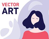 Vector illustrations 2018-2019 (ENG)