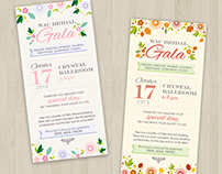 WAC Catering Wedding Gala Ad