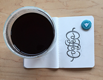 Coffee Ambigram