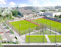 Concept of reconstruction of the sport complex