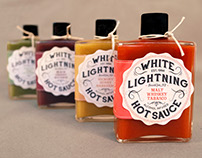 White Lightning Hot Sauce