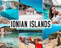 Free Ionian Islands Mobile & Desktop Lightroom Presets