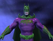Joker Themed Batman Texture Project