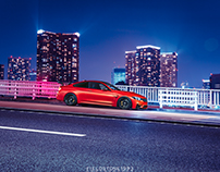 BMW M4 with HRE S201 in Tokyo