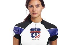 National Road US 40 - Team Logo