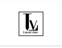Lawyer Vines logo design.