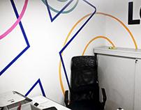 Loox office walls decoration