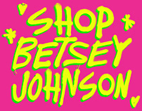 Betsey Johnson Instagram Story Artwork