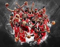 Houston Rockets 2014-2015 team wallpaper