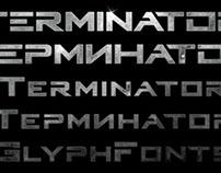 Terminator Genisys Typeface