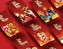 Tết Việt Nam 2019 Lì xì đỏ