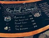 Chalkboard for Bakoel Sangu Cafe & Bistro