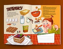 Cooking book for girls