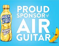 Milk2Go | Proud sponsor of fun