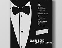 Poster - James Bond Festival
