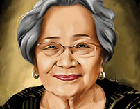 Grandma Digital Painting