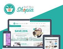 Shopia - E-Commerce Multipurpose HTML5 Theme