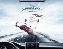Mercedes-Benz Christmas Ad.