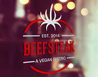 Vegan Bistro Logo Design