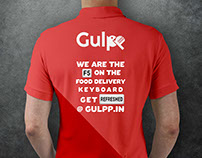 t-shirt design for food company