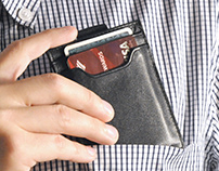 Travis and Wells Leather Wallet