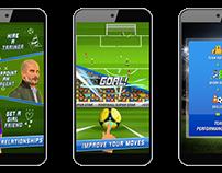 Football Super Star UI/UX
