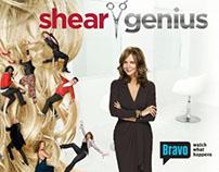 BRAVO: Shear Genius print campaign