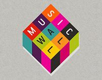 Logo Design : musicwall.ro