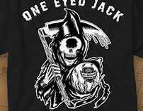 T-shirt for Atletico Bukkahe & One Eyed Jack