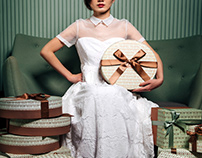 Ooh La Love 囍餅禮盒頂級款設計