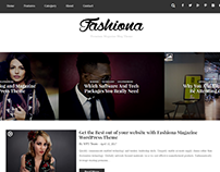 Fashiona - Magazine & Blog Premium WordPress Theme