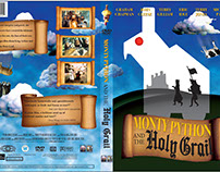 DVD Cover: Monty Python and the Holy Grail