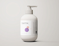 Liquid Soap Mockup