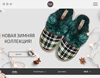 Главная страница интернет-магазина BuyTapok