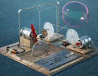 Soap Bubble Machine