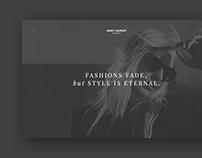 Yves Saint Laurent Paris redesign concept