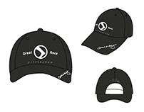 2012 Pittsburgh Great Race Hat Design