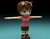 Coffgirl 3D Modeling