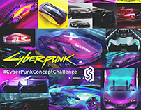 Join the #CyberPunkConceptChallenge