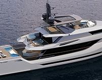 Greywolf 40m Explorer Yacht Design Project