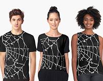 Spider Web Print Wear